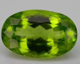 GiL Certified 4.06 ct Peridot ~ Pakistan SKU.1