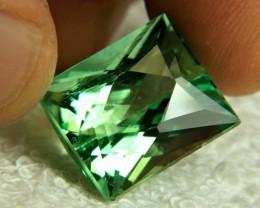 27.35 Carat Vibrant Green VVS Himalayan Spodumene - Superb