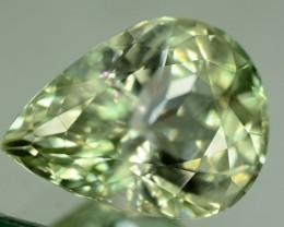 27.95 ct Greenish Spodumene Gemstone