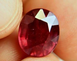10.45 Carat Fiery Red Ruby - Superb