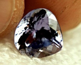 CERTIFIED - 3.90 Carat IF/VVS1 Purplish Blue African Tanzanite