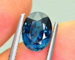 Certified Unheated Sapphire 2.40 ct Royal Blue Color  sku.2