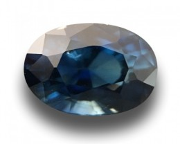 Natural greenish Blue sapphire |Loose Gemstone|Certified| Sri Lanka