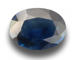 Natural Blue Sapphire |New Certified| Tanzania, United Republic of