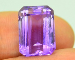 9.405 ct Natural Untreated Fancy Cut Amethyst