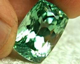 30.28 Carat Vibrant Green Himalayan VVS Spodumene - Superb