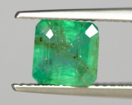 Green Emerald 1.64 ct Zambia