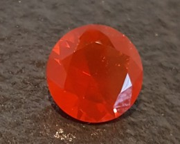2.28 CT MEXICAN FIRE OPAL - MASTER CUT!  FLAWLESS!