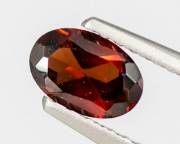 Red Garnet Hessonite 0.56 ct Africa