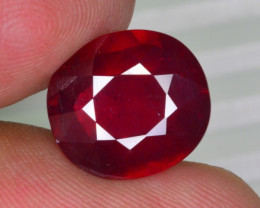 7.50 CT NATURAL AFRICAN RUBY GEMSTONE