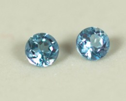 Blue Aquamarine Total 0.21 ct  Brasil