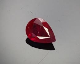 1.00ct Burma Ruby Pear