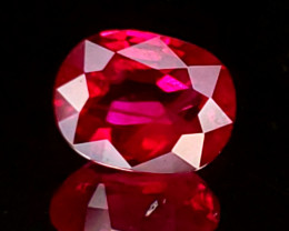 .72ct Burma Ruby Oval