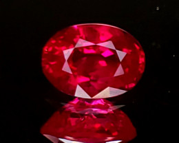 .86ct Burma Oval Ruby