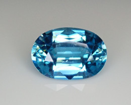 5.09ct Blue Zircon