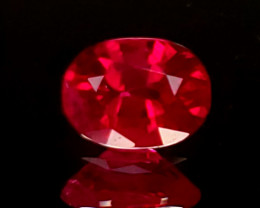 1.00ct Burma Oval Ruby