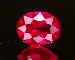 .80ct Burma Oval Ruby