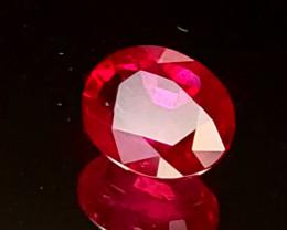 .70ct Burma Oval Ruby