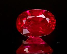 .86ct Burma Ruby Oval