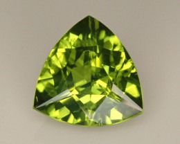 2.43ct  Trillion Peridot