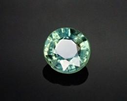 .62ct Blue/Green 5mm round Sapphire
