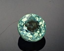 .835ct Blue/Green 5mm round Sapphire