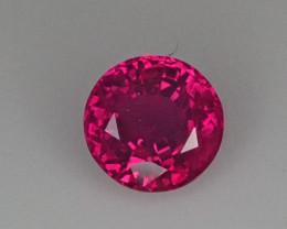 .693ct Round Burma Ruby