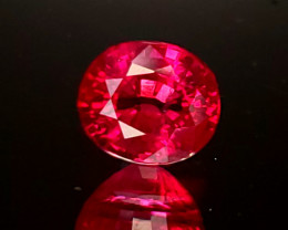 1.51ct Burma Ruby Oval
