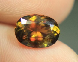 Wow Very Beautiful Rainbow Luster Zagi Sphene (Tantanite) From Pakistan.