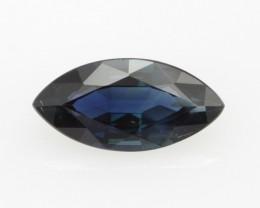 1.42cts Natural Australian Blue Sapphire Marquise Cut