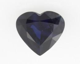 1.13cts Natural Australian Blue Sapphire Heart Shape