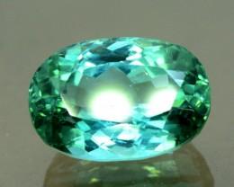 9.40 cts Bluish Green Untreated Tourmaline Gemstone Afghan