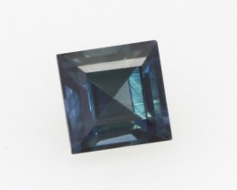0.44cts Natural Australian Blue Sapphire Square Cut