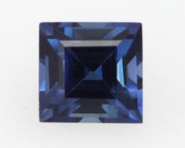 0.45cts Natural Australian Blue Sapphire Square Cut
