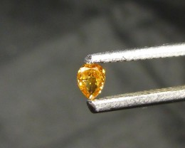 0.09ct  Diamond , 100% Natural Untreated