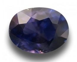 Natural Purplish Blue sapphire |Loose Gemstone|New| Sri Lanka