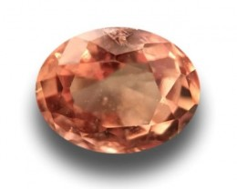 Natural Pinkish orange padparadscha  Loose Gemstone New  Sri Lanka