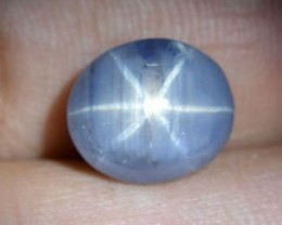 ~STAR~ 11.09 Cts Natural 6 Line Star Sapphire - UNTREATED