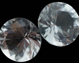 3.70 Cts PAIR Australian Faceted  Topaz PPP1311