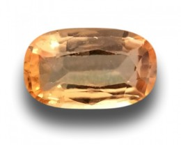 Natural Orange sapphire|Loose Gemstone|New|Sri Lanka