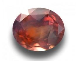 Natural orange sapphire |Loose Gemstone|New Certified| Sri Lanka