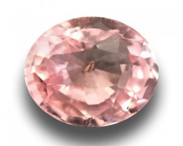 Natural Pinkish orange padparadscha |Loose Gemstone|New| Sri Lanka