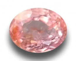 Natural Orange Pink padparadscha |Loose Gemstone|New| Sri Lanka