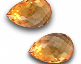 Natural Orange sapphire |Loose Gemstone|New| Sri Lanka