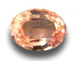 Natural Orange Sapphire |Certified | Loose Gemstone | Sri Lanka - New