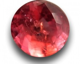 Natural Reddish Orange Sapphire|Loose Gemstone|Sri Lanka - New