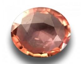 Natural Pinkish Orange padparadscha |Loose Gemstone|New| Sri Lanka