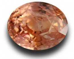 Natural Unheated Pinkish Orange Padparadscha| Loose Gemstone |New| Sri Lank