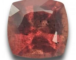 Natural brown orange sapphire  Loose Gemstone New Certified  Sri Lanka