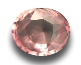 Natural Corundum Padparadscha 1.06 cts CEYLON Sapphire